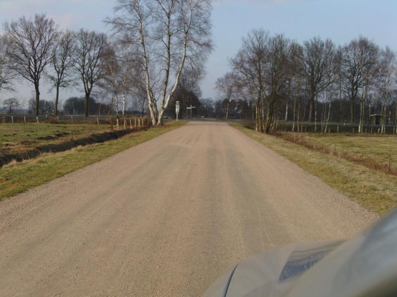 Landwirtschaftliche Wege mit scherfester Wegedecke
